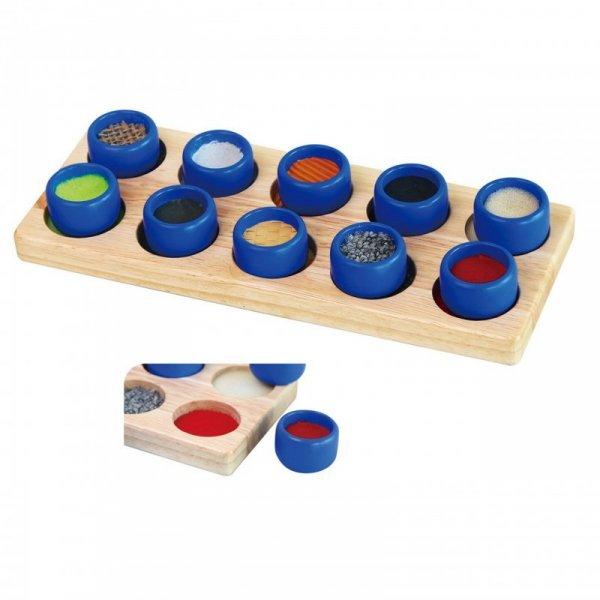 Sorter Sensoryczny - Sortuj Dotykiem - Viga Toys