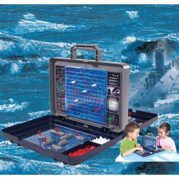 Gra w Statki - Bitwa Morska w Walizce -Simba