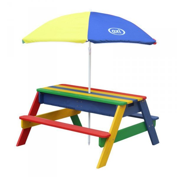 AXI Kolorowy Stół z Parasolem