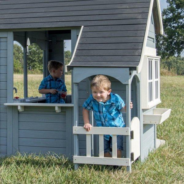 Drewniany domek ogrodowy dla dzieci Wiosenny Backyard Discovery
