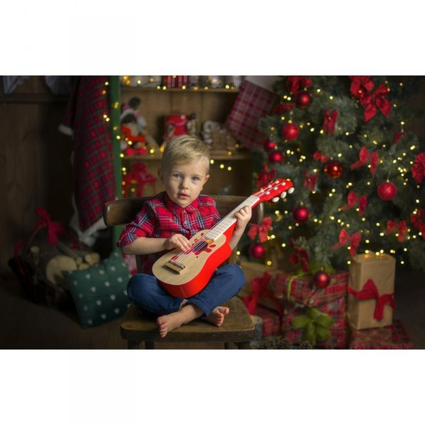 Akustyczna Gitara Drewniana dla dzieci - Classic World