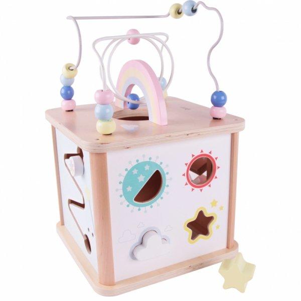 Sześcian Aktywności Wielofunkcyjna Zabawka Jednorożec - Classic World