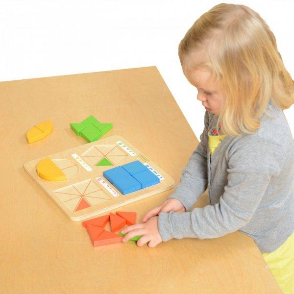 Zabawa W Budowanie Figur Geometrycznych - Masterkidz