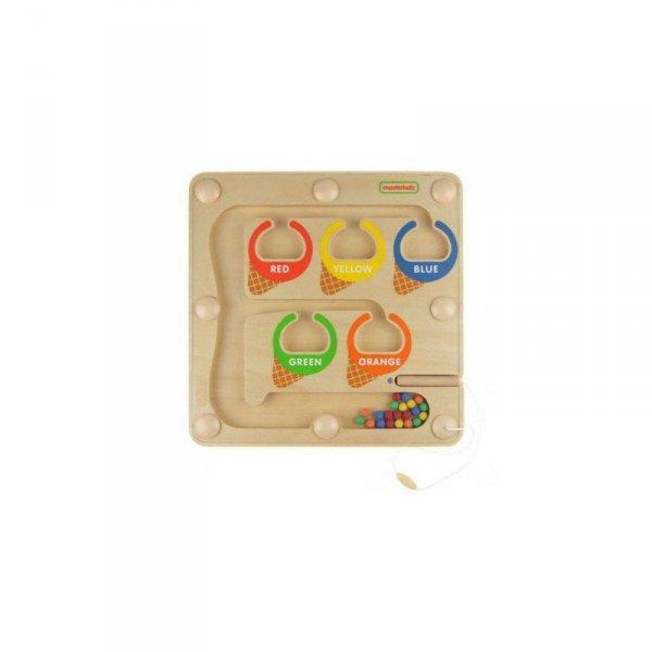 Labirynt Magnetyczny Sorter Kolorów - MASTERKIDZ
