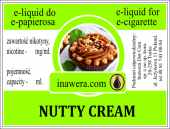 E-Liquid 10 ml - Nutty Cream