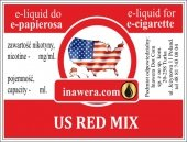 E-Liquid 10 ml - Us Red Mix