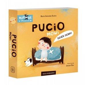Książeczka Pucio mówi dzień dobry