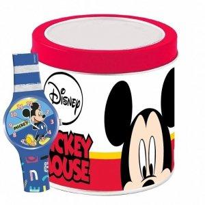 Pulio Zegarek analogowy w puszce Mickey