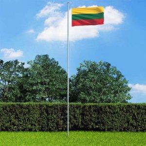 Flaga Litwy, 90 x 150 cm