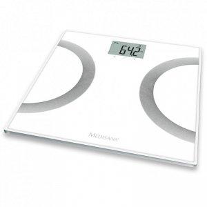 Medisana Waga z analizą składu ciała BS 445, biała, 180kg, 40441