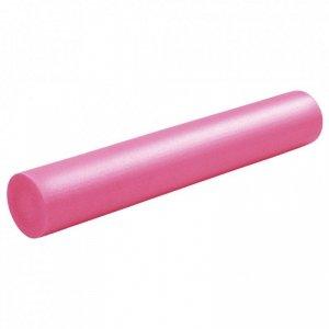Piankowy wałek do jogi, 15 x 90 cm, EPE, różowy