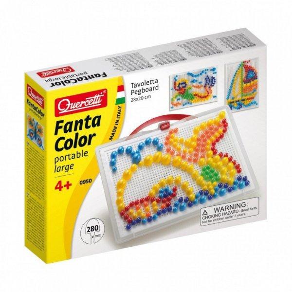 Quercetti Fantacolor Mozaika 280 kołeczków