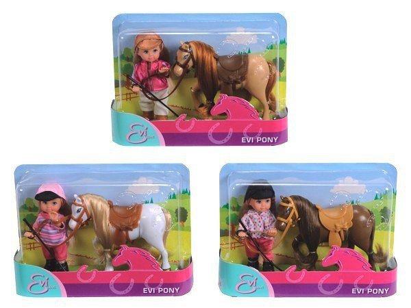 Simba Lalka EVI Pony z Koniem