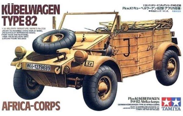 Tamiya Kuebelwagen Type 82 Africa