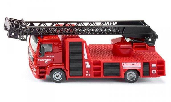 Siku Pojazd Straż Pożarna z drabiną
