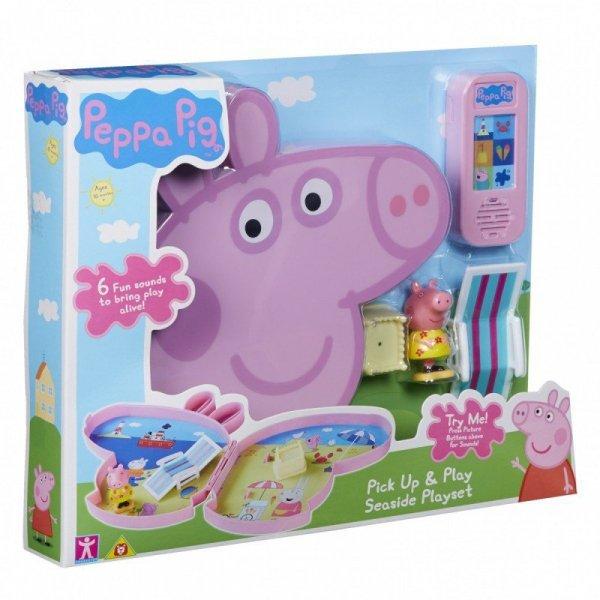 Tm Toys Zestaw do zabawy Świnka Peppa walizeczka