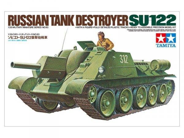 Mode plastikowyl Rosyjskie działo samobieżne SU-122