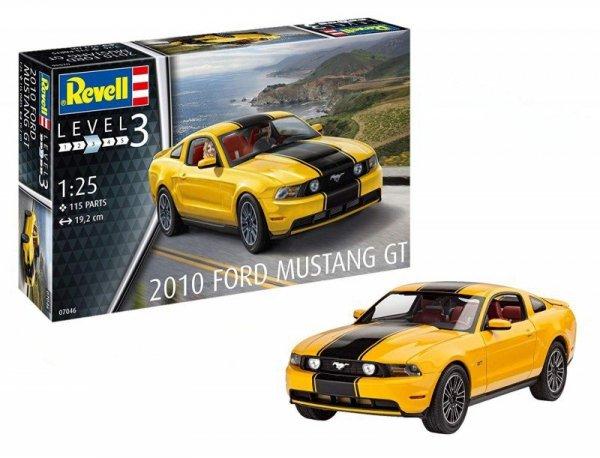 Revell Model plastikowy Samochód Ford Mustang GT 2010