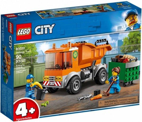 LEGO Klocki City 60220 Śmieciarka