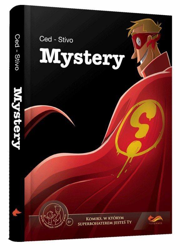 Foxgames Gra Komiks Paragrafowy: Mystery
