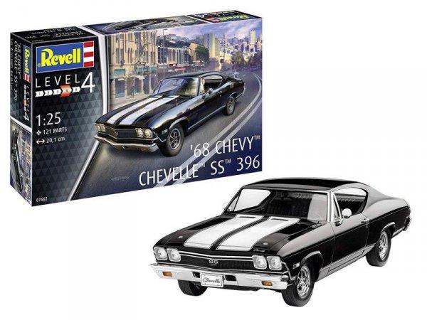 Model plastikowy Chevy Chevelle 1968