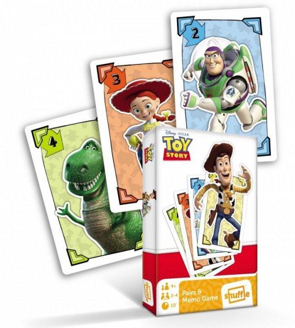 Cartamundi Karty Piotruś i Memo Toy Story 4