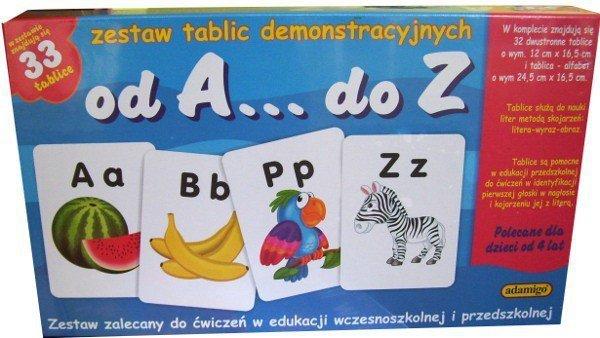 Adamigo Zestaw Edukacyjny od A do Z