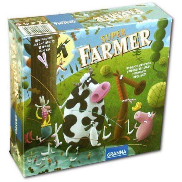 Granna Gra Super Farmer z Rancha