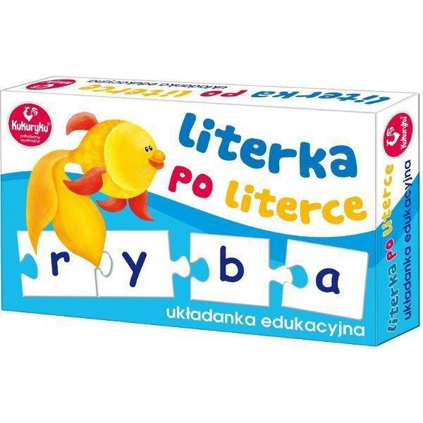 Promatek Układanka Literka po Literce