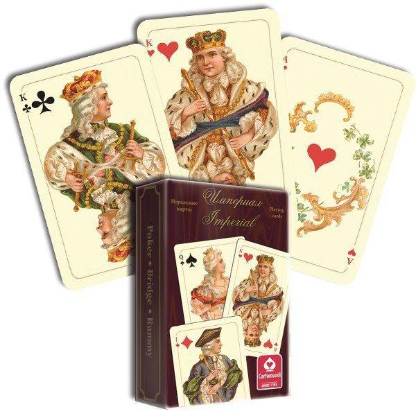 Cartamundi Imperial karty do gry 55 listków