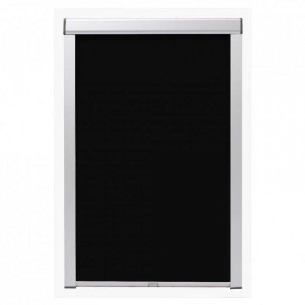 Roleta zaciemniająca, czarna, 104