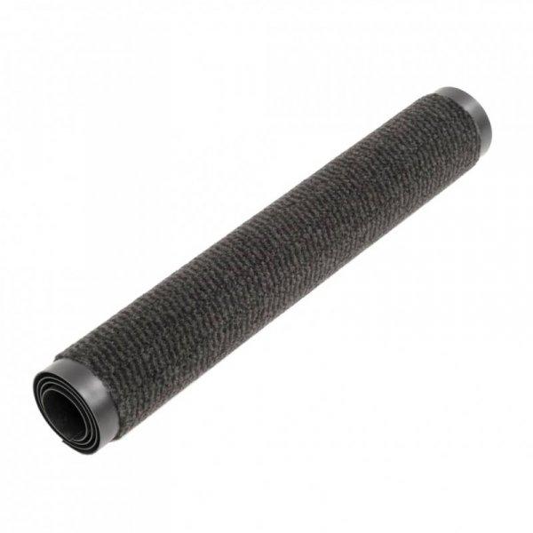 Prostokątna wycieraczka przed drzwi 80 x 120 cm, czarna