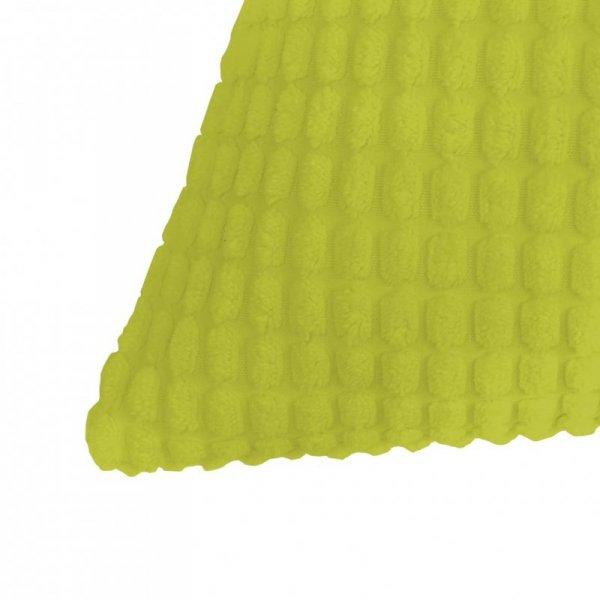 Zestaw 2 poduszek z weluru w kolorze zielonym 40 x 60 cm