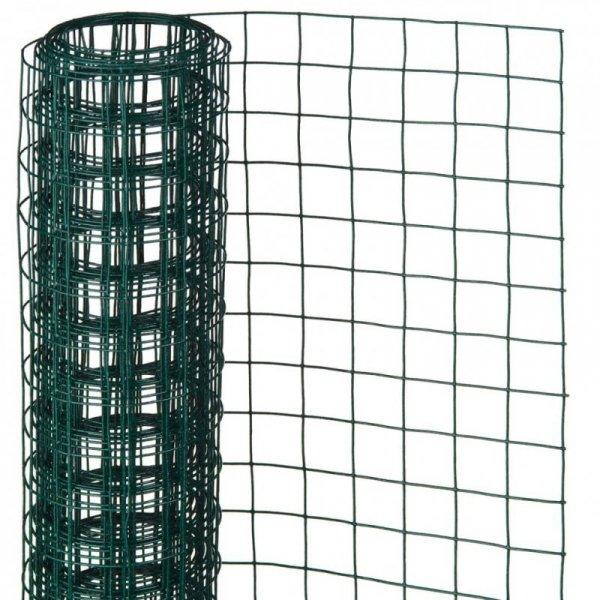 Nature Siatka z drutu, kwadratowa, 1x5 m, 13 mm, powlekana stal