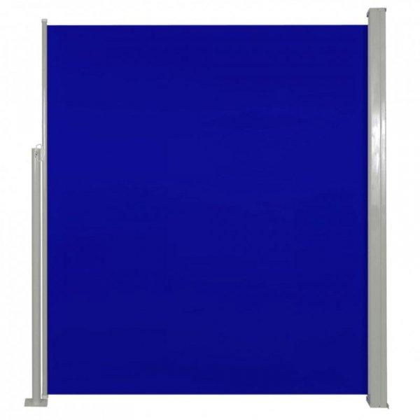 Markiza boczna na taras, 160 x 300 cm, niebieska