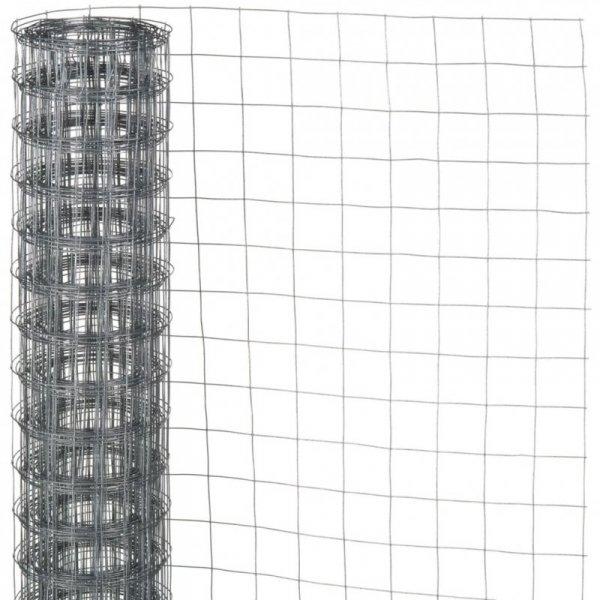 Nature Siatka z drutu, kwadratowa 0,5x5 m, 13 mm, galwanizowana stal