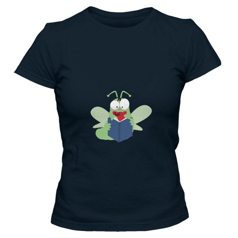 Koszulka damska MÓL KSIĄŻKOWY