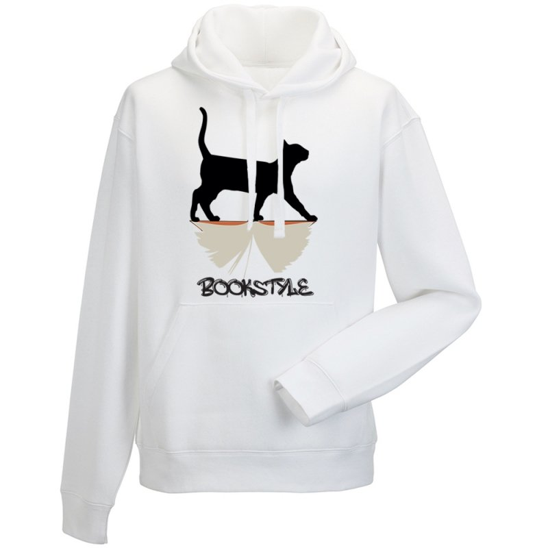 Bluza męska z kapturem BOOKSTYLE Cat