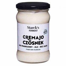 Cremajo Czosnkowy - Jak prawdziwy majonez - ale bez jajek Starck's, 270g