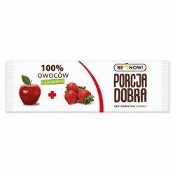 Listek jabłkowo-truskawkowy Porcja Dobra, 16g