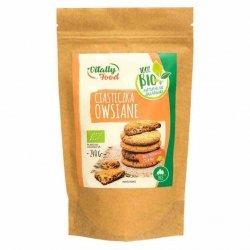 Mieszanka na ciasteczka owsiane bez dodatku cukru Vitally Food BIO, 240g