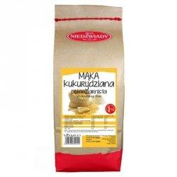 Mąka kukurydziana pełnoziarnista Młyn Niedźwiady BIO, 1kg