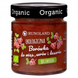 Borówka 80% owoców do mies, serów i deserów Runoland BIO, 200g
