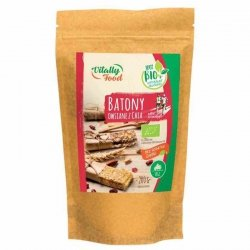 Mieszanka na batony owsiane z chia Vitally Food BIO, 200g