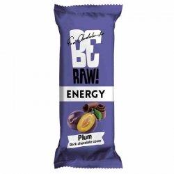 Baton śliwka w czekoladzie BeRaw Energy Plum Purella, 40g