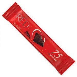 Baton z ciemnej czekolady bez dodatku cukru, tylko 75 kalorii RED Delight, 26g