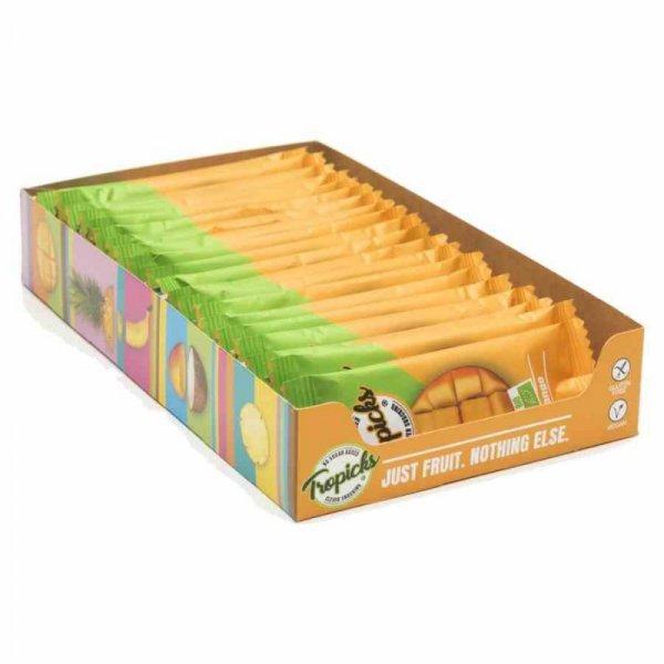 Batonik 100% mango Tropicks BIO, 20g