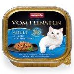 ANIMONDA Vom Feinsten Grain Free szalka z łososiem w ziołowym sosie 100 g