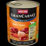 ANIMONDA GranCarno Orginal Adult puszki wołowina kurczak 800 g