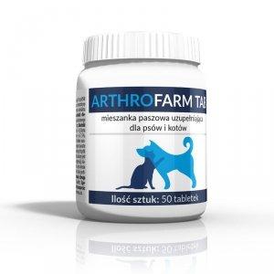 ARTHROFARM - Mieszanka paszowa uzupełniająca dla psów i kotów 50szt.